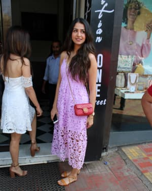 Photos: Malvika Raaj Spotted at Bastian