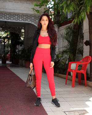 Photos: Nora Fatehi Spotted at Bandra | 1640431