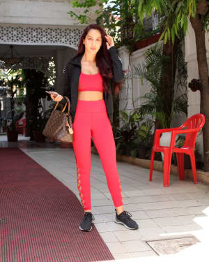 Photos: Nora Fatehi Spotted at Bandra | 1640432