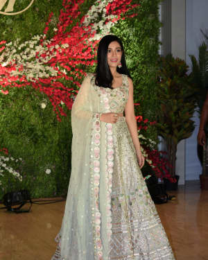 Amrita Rao - Photos: Wedding Reception of Aksshay & Murup at Sahara Star Hotel