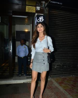 Photos: Shilpa Shetty Spotted at Bastian