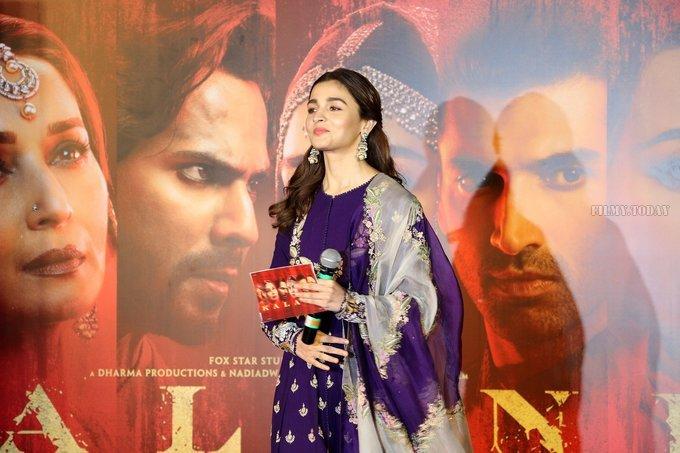 Alia Bhatt - Photos: Trailer launch of film Kalank at PVR   Picture 1640886