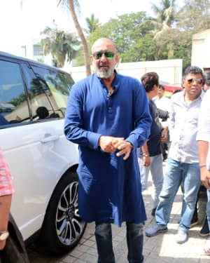 Sanjay Dutt - Photos: Trailer launch of film Kalank at PVR