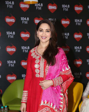 Madhuri Dixit - Photos: Promotion Of Kalank at Radio Mirchi Lower Parel