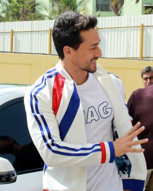 Tiger Shroff - Photos: Pepsi's New Anthem 'Har Ghoont Me Swag' Launch at PVR