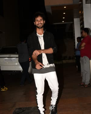 Shahid Kapoor - Photos: Film Kabir Singh Team at Ekta Kapoor's House