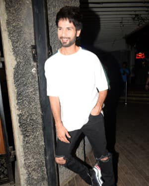 Shahid Kapoor - Photos: Wrapup Party Of Film Kabir Singh at Juhu | Picture 1642066