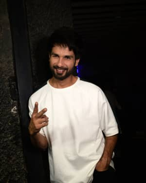 Shahid Kapoor - Photos: Wrapup Party Of Film Kabir Singh at Juhu