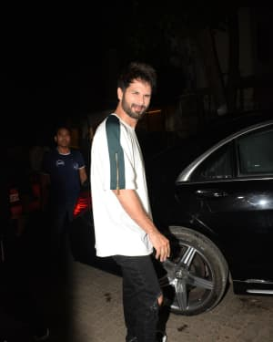 Shahid Kapoor - Photos: Wrapup Party Of Film Kabir Singh at Juhu | Picture 1642064