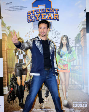 Tiger Shroff - Photos: Trailer Launch Of Film Student Of The Year 2 at PVR