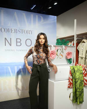 Photos: Shibani Dandekar at the unveiling of Spring Summer collection of fashion brand Cover Story | 1642289