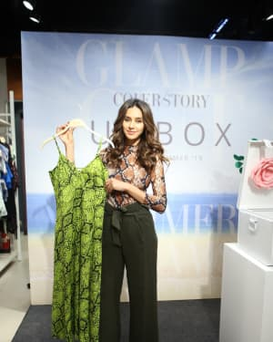 Photos: Shibani Dandekar at the unveiling of Spring Summer collection of fashion brand Cover Story | 1642283
