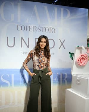 Photos: Shibani Dandekar at the unveiling of Spring Summer collection of fashion brand Cover Story | 1642287