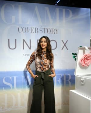 Photos: Shibani Dandekar at the unveiling of Spring Summer collection of fashion brand Cover Story | 1642288