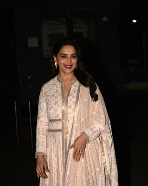 Madhuri Dixit - Photos: Screening of Film Kalank at Pvr Juhu