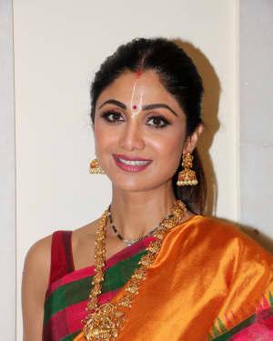Photos: Shilpa Shetty Spotted at Iskon Juhu For The Ramnavami Celebration