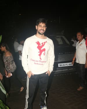 Sidharth Malhotra - Photos: Kiara Advani's Birthday Party At Worli