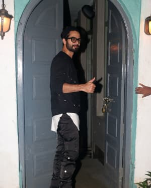 Shahid Kapoor - Photos: Kiara Advani's Birthday Party At Worli