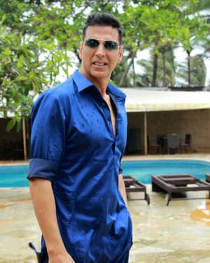 Photos: Mission Mangal Actor Akshay Kumar Spotted Promoting His Film