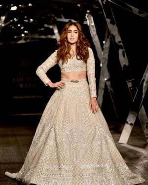 Photos: Sara Ali Khan Ramp Walk At Indian Couture Week 2019
