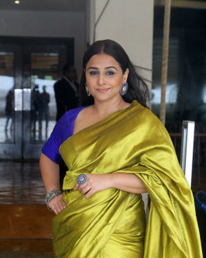 Vidya Balan - Photos: Media Interactions For The Film Mission Mangal At Sun N Sand   Picture 1672543