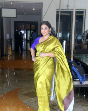Vidya Balan - Photos: Media Interactions For The Film Mission Mangal At Sun N Sand   Picture 1672541