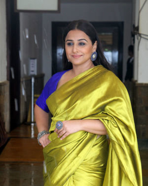 Vidya Balan - Photos: Media Interactions For The Film Mission Mangal At Sun N Sand   Picture 1672545