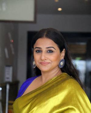 Vidya Balan - Photos: Media Interactions For The Film Mission Mangal At Sun N Sand   Picture 1672546
