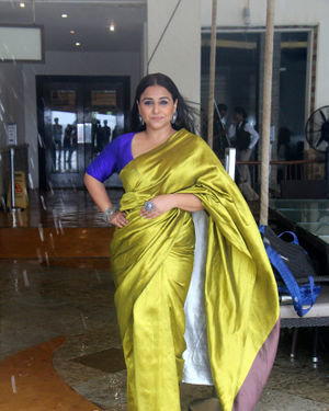 Vidya Balan - Photos: Media Interactions For The Film Mission Mangal At Sun N Sand   Picture 1672539