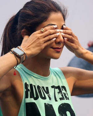 Photos:  Shilpa Shetty Conducts A Yoga Event At Phoenix Lower Parel   Picture 1672653