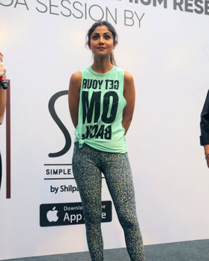 Photos:  Shilpa Shetty Conducts A Yoga Event At Phoenix Lower Parel