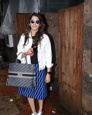 Isha Koppikar - Photos: Celebs Spotted At Indigo In Bandra