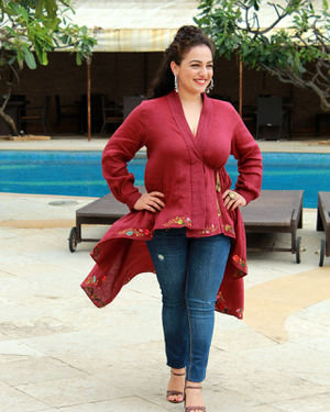 Nithya Menon - Photos: Promotion Of Film Mission Mangal At Sun N Sand | Picture 1673445