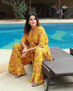 Kirti Kulhari - Photos: Promotion Of Film Mission Mangal At Sun N Sand | Picture 1673451