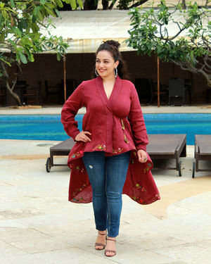 Nithya Menon - Photos: Promotion Of Film Mission Mangal At Sun N Sand | Picture 1673462