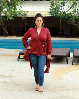 Nithya Menon - Photos: Promotion Of Film Mission Mangal At Sun N Sand | Picture 1673443