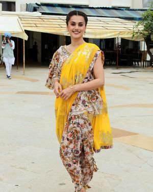 Photos: Taapsee Pannu Promotes Mission Mangal At Sun N Sand | Picture 1673415