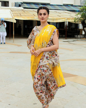 Photos: Taapsee Pannu Promotes Mission Mangal At Sun N Sand | Picture 1673413