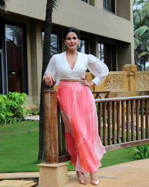 Kirti Kulhari - Photos: Promotion Of Film Mission Mangal At Jw Marriot
