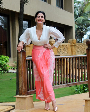 Kirti Kulhari - Photos: Promotion Of Film Mission Mangal At Jw Marriot | Picture 1673588