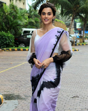 Taapsee Pannu - Photos: Promotion Of Film Mission Mangal At Jw Marriot