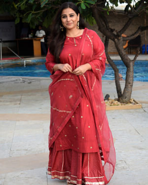 Vidya Balan - Photos: Media Interactions For The Film Mission Mangal At Sun N Sand | Picture 1675875