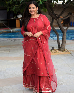 Vidya Balan - Photos: Media Interactions For The Film Mission Mangal At Sun N Sand | Picture 1675874