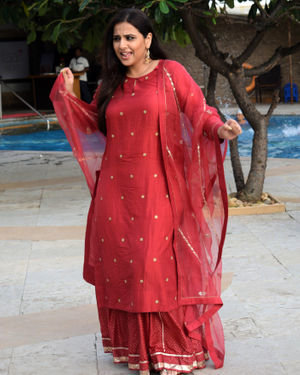 Vidya Balan - Photos: Media Interactions For The Film Mission Mangal At Sun N Sand | Picture 1675877