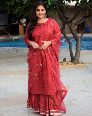 Vidya Balan - Photos: Media Interactions For The Film Mission Mangal At Sun N Sand | Picture 1675878