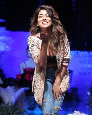 Photos: Shriya Saran At Lakme Fashion Week Winter Festive 2019