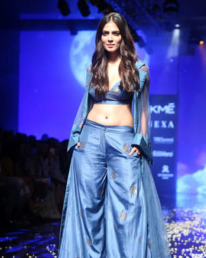 Photos: Malvika Mohanan Walks For Vineet Rahul At Lakme Fashion Week