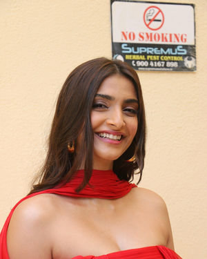 Sonam Kapoor Ahuja - Photos: Trailer Launch Of The Zoya Factor At Pvr Juhu