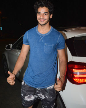 Ishaan Khattar - Photos: Celebs Spotted at Juhu