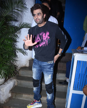 Manish Paul - Photos: Raza Beig's Birthday Party At Olive Bandra